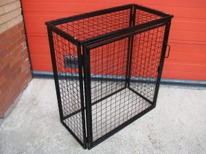 Folding Gas Cage for Festivals