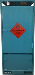 Lock Up Gas Cylinder Store