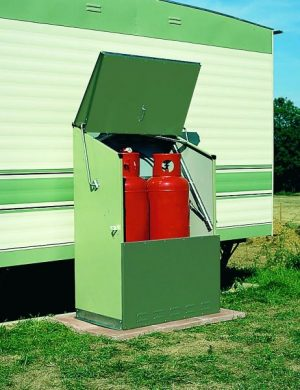 TriStore 2 x 47kg Solid Gas Cylinder Cabinet