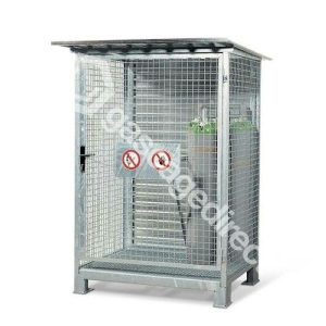 Small High Security Gas Cylinder Cages