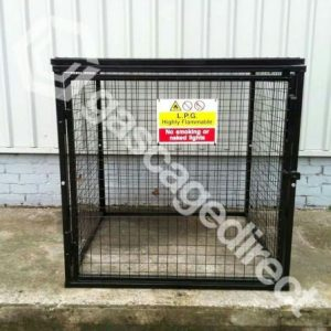 Gas Cylinder Cage GC25