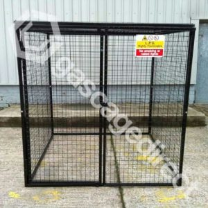 Gas Cylinder Cage GC45