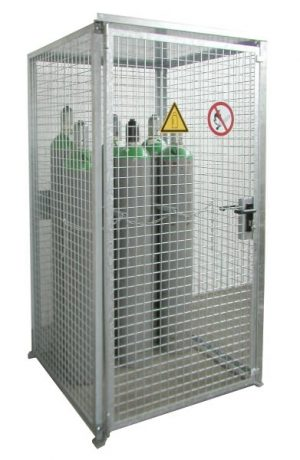 HSGC-M0 High Security Gas Cage - 16 Cylinders