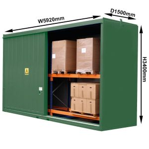 Secure Indoor Pallet Storage