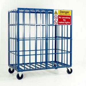 Mobile Gas Cage Storage Units