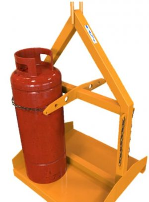 Cranage and Forklift Cradle - 4 Large Cylinders - HP4
