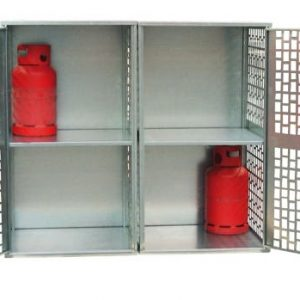 20 x 11kg Perforated Solid Gas Cylinder Cabinet
