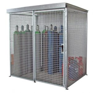 HSGC-M2 High Security Gas Cage - 48 Cylinders