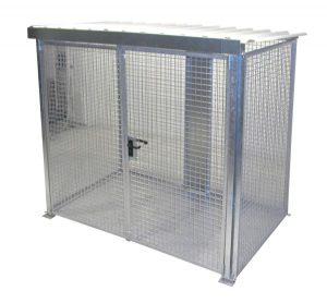 HSGC-M3 High Security Gas Cage - 60 Cylinders