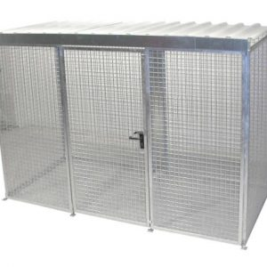 HSGC-M4 High Security Gas Cage - 78 Cylinders