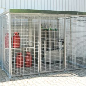 HSGC-M5 High Security Gas Cage - 104 Cylinders