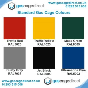 Standard Gas Cage Colours