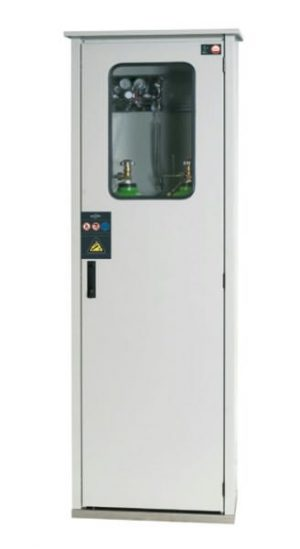 Outdoor Secure Gas Cabinet - 2 x 50L