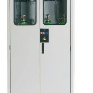 Outdoor Secure Gas Cabinet - 3 x 50L
