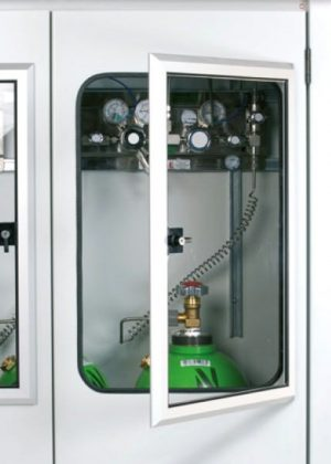 Outdoor Secure Gas Cabinet - 5 x 50L